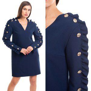 $1,100 MSGM Milano New Runway Winter Mini Dress M